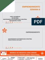 PRESENTACION SEMANA 8. MODELO NEGOCIO LEAN CANVAS ELECTROMECANICApptx