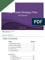 Calpers Real Estate Strategic PLan