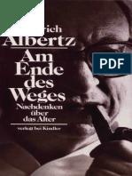 Albertz , Heinrich - Am Ende des Weges - Nachdenken über das Alter.pdf