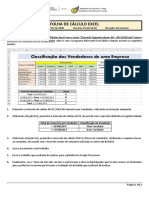 Ficha Atividade Turma 9A - 4 Novembro 2020