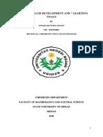 Curriculum Development_Indah Mutiara Insani_4193332001_Bilingual Chemistry Education 2019