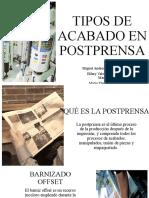 TIPOS DE ACABADO EN POSTPRENSA (1)