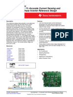 Cost Optimized, less than 1% Accurate Current Sensing and Protection for 3-Phase Inverter Reference Design, tiduef6