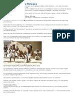 História e Cultura Africana