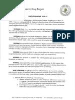 Nov. 13 Burgum Executive Order