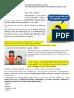LUNES 16 DE NOVIEMBRE PERSONAL SOCIAL PREGUNTAS