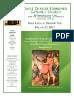 January 23, 2011 Bulletin