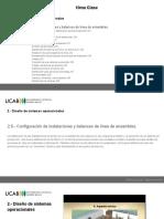 Clase 10 - Configuración de Instalaciones - Gerencia de Operaciones - UCAB