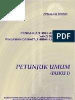 Petunjuk Umum Pengusulan PHLN