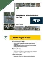 Regionalisasi Rekonstruksi Aceh Dan Nias