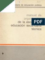 Manual de organizacion de la EST