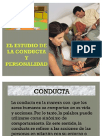 EL ESTUDIO DE LA CONDUCTA Y PERSONALIDAD EXPO 2007