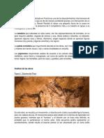 Análisis de Las Obras Cueva de Lascaux