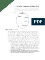 Manajemen Proyek Dan Penggunaan Kerangka Kerja Logis