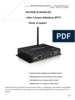 FMUSER FBE200 IPTV Streaming HDMI Video Encoder User Manual-FR-French français