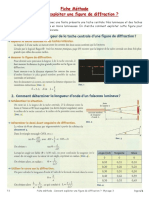 TS - Phys 3 - Fiche Méthode - Figure de Diffraction