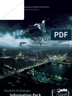 EPSF Student Exchange Information Pack (2009-2010)