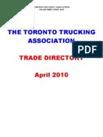 TTA Trade Directory 2010