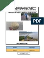 PLAN DE COMPESACION Y REASENTAMIENTO INVOLUNTARIO (PACRI)