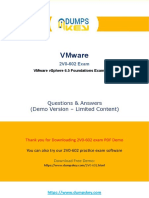 vpshere 6.5 foundation exam