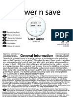 SM14 - ShowernSave - User Guide 1.2
