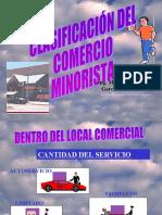 Clasificacion Comercio Minorista