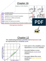 Chapter 16 6-11 equilibria and solubility
