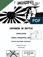Japanese in Battle
