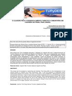 O CAJUEIRO REI E O DESENVOLVIMENTO TURÍSTICO COMUNITÁRIO EM CAJUEIRO DA PRAIA, PIAUÍ, BRASIL
