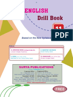 XI SURYA ENGLISH DRILL BOOK