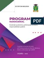Program Managerial Igor Sarov