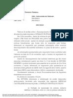 PET 8961 - Decisão Domiciliar, MBA e Tornozeleira