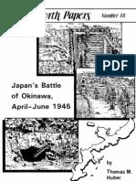 Japan's Battle of Okinawa