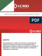 APRESENTAÇÃO - INTRODUÇÃO A LUBRIFICAÇÃO E O ATRITO NA ANÁLISE DE VIBRAÇÃO.pptx