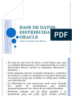 BASE DE DATOS DISTRIBUIDA EN ORACLE