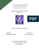 CTP REPORT
