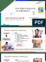 EJERCICIO FÍSICO DURANTE  EL EMBARAZO.pptx