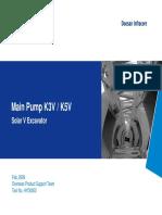 HYD0003 Solar Main Pump K3V, K5V