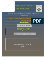 RECONOCIMIENTO DE ESTADO Y GOBIERNO