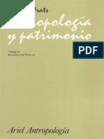 Antropologia y Patrimonio Prats - Unidad 3