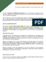 Chapitre 1 - Symfony, un framework PHP