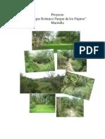 Proyecto Parque de Los Pajaros Marindia