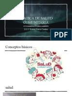 PRATICA DE SALUD COMUNITARIA