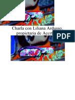 Charla con Liliana Ardusso propietaria de acertijo incompleto