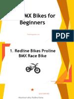 The BMX Bikes