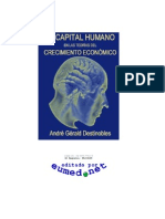 El capital humano en las teorias del crecimiento economico