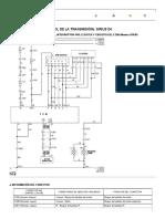 Diagrama de cableado eléctrico 2005 Nubira-Lacetti 6. TCM (MÓDULO DE CONTROL DE LA TRANSMISIÓN)_ SIRIUS D4