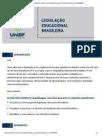 Legislação Educacional Brasileira