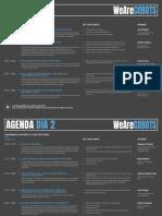 WeAreCOBOTS, agenda conferencia España-1