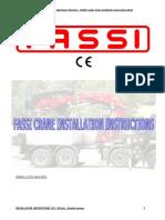 fassi crane instalation